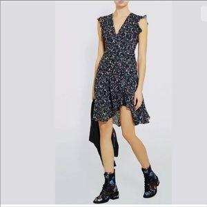 AllSaints Caris Sketch short sleeves dress